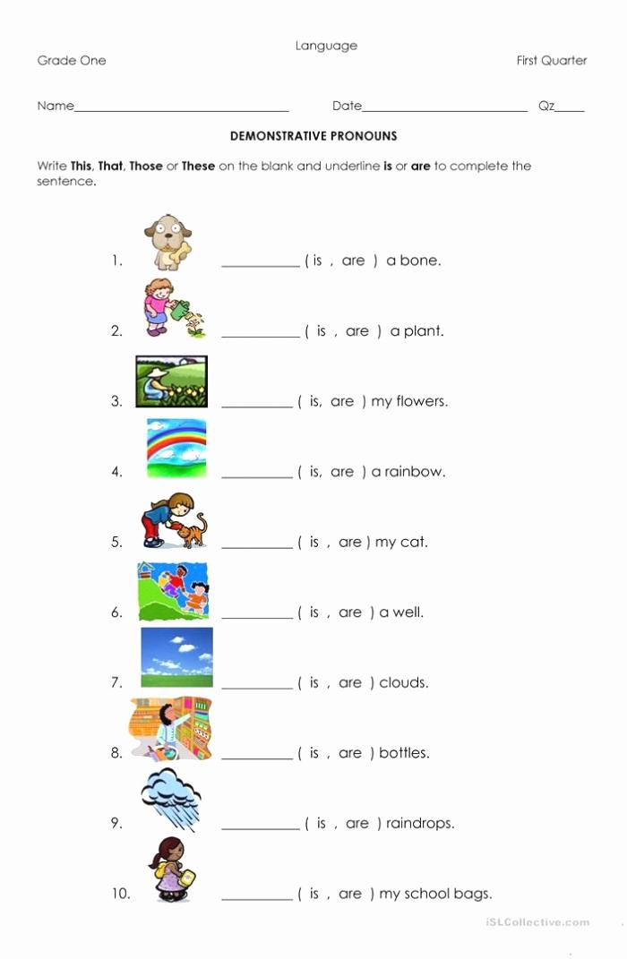 Pronoun Worksheets Second Grade Inspirational 2nd Grade Possessive Nouns Worksheets – Super Worksheets