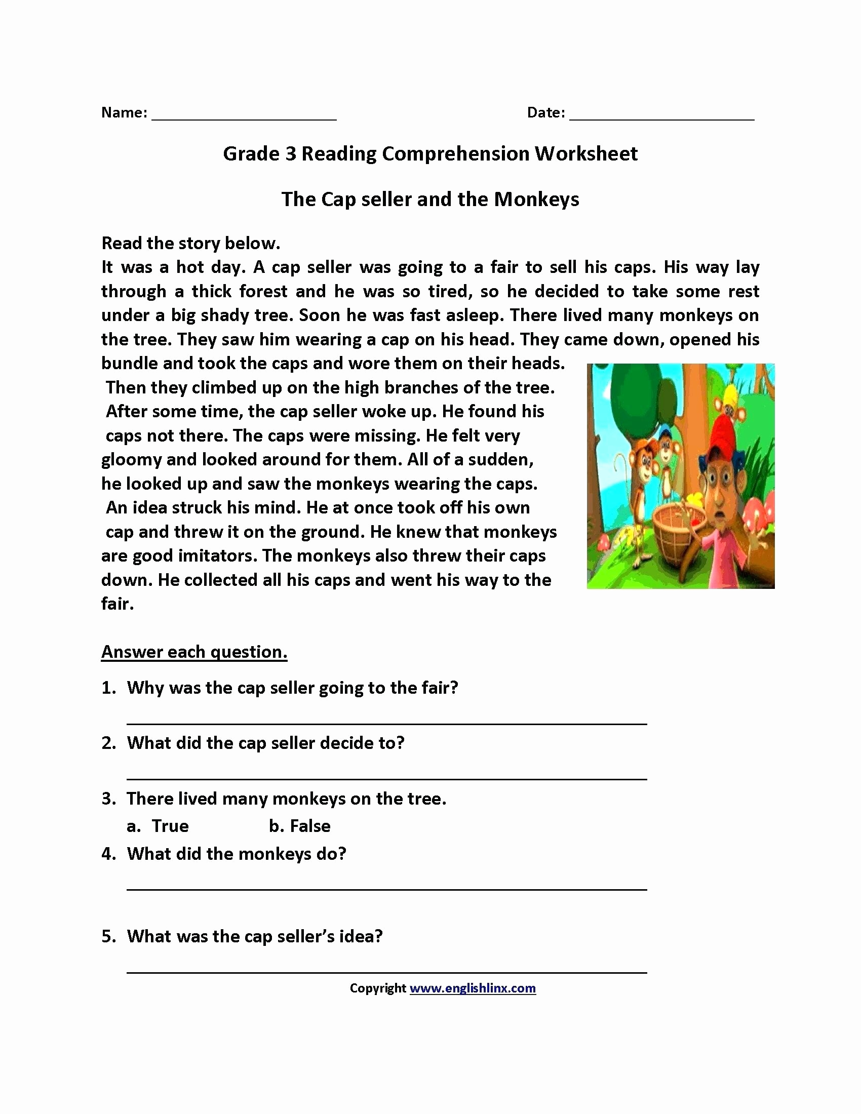 Proofreading Worksheets 3rd Grade Awesome Third Grade Reading Worksheets Free Printable