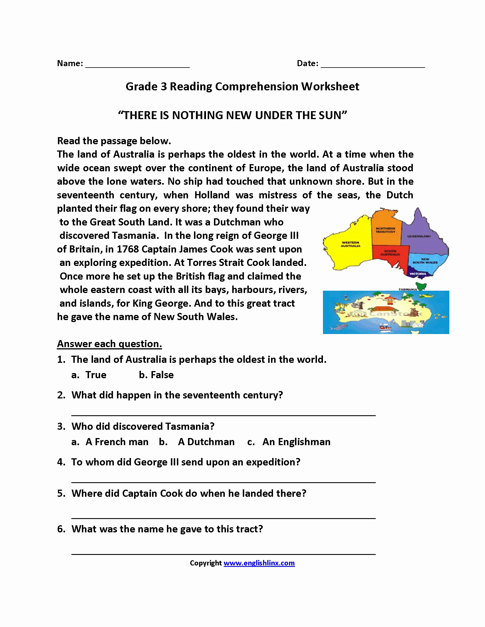 Proofreading Worksheets 3rd Grade Elegant Reading Prehension Worksheets for Grade 3 Pdf