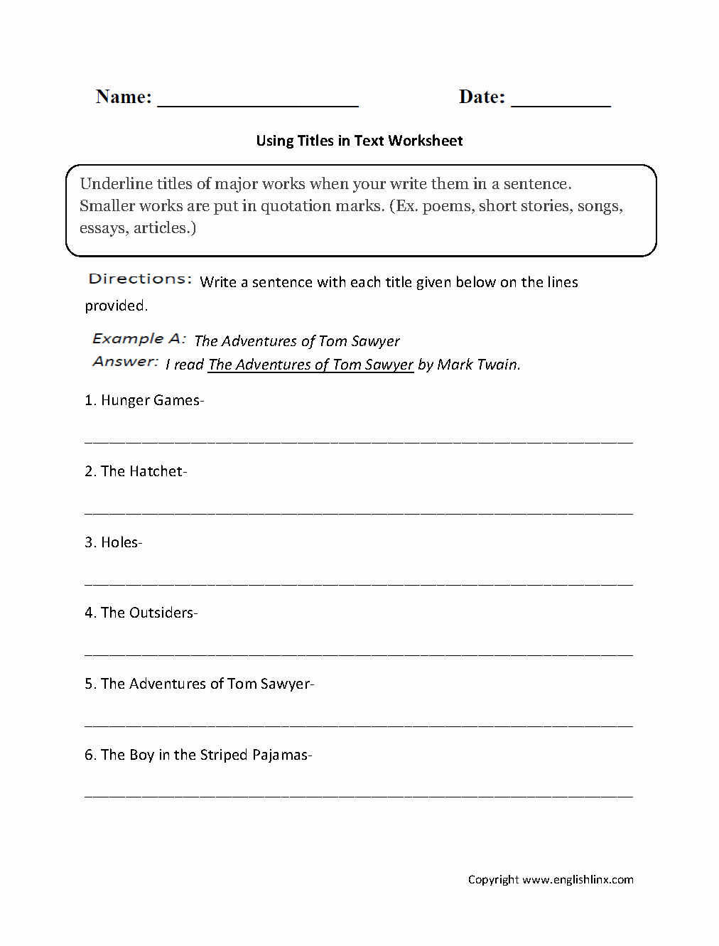 Quotation Worksheets 4th Grade Beautiful 11 Best Of 4th Grade Poems Worksheets Christmas