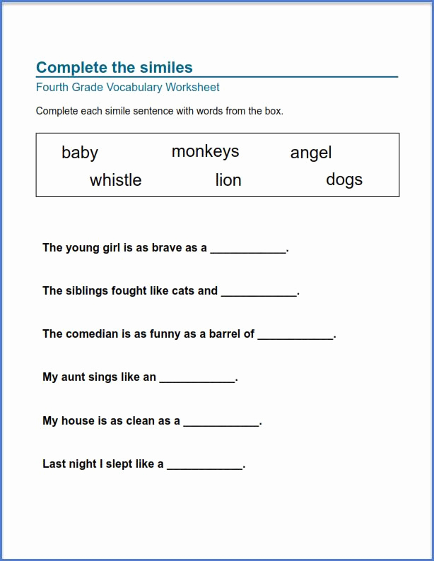 Quotation Worksheets 4th Grade Lovely 4th Grade Worksheets