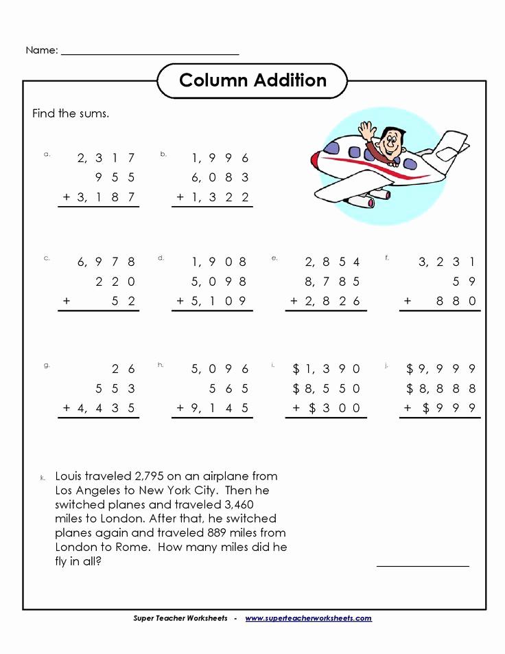 Quotation Worksheets 4th Grade Lovely Best 4th Grade Math Worksheet You Calendars S