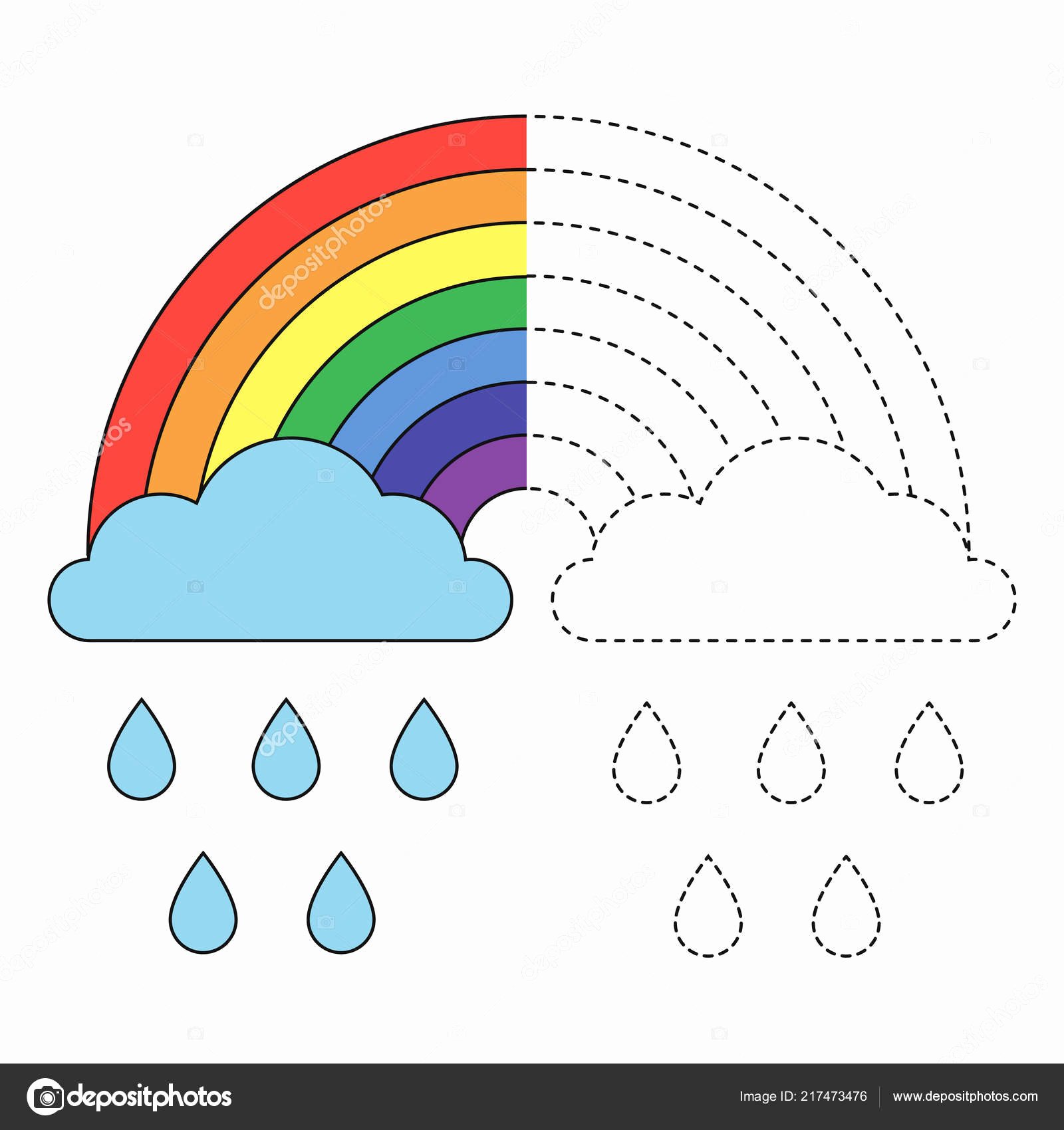 Rainbow Worksheets Preschool Fresh Rainbow Worksheet for Preschool Kindergarten Worksheets