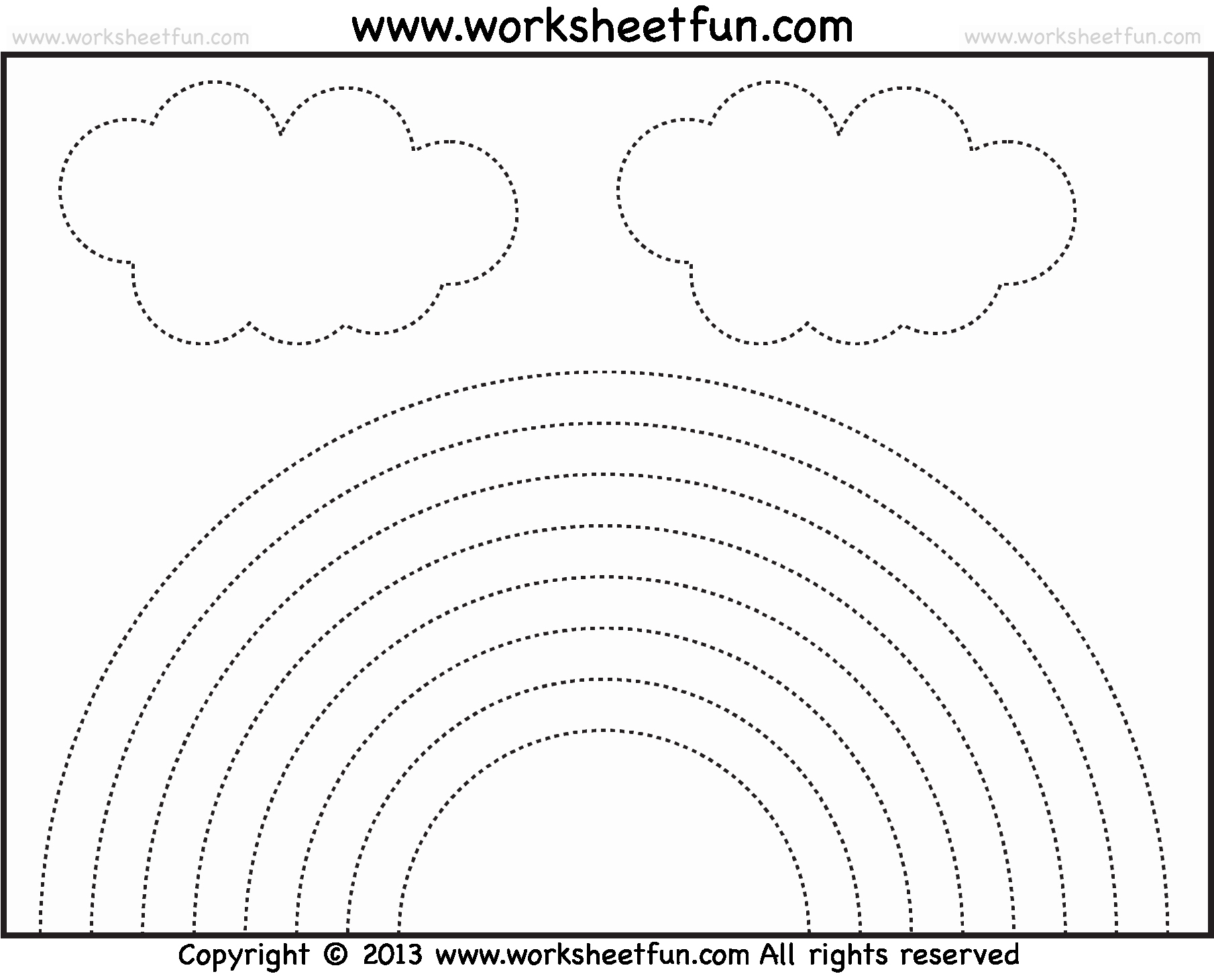 Rainbow Worksheets Preschool Lovely Crafts Actvities and Worksheets for Preschool toddler and