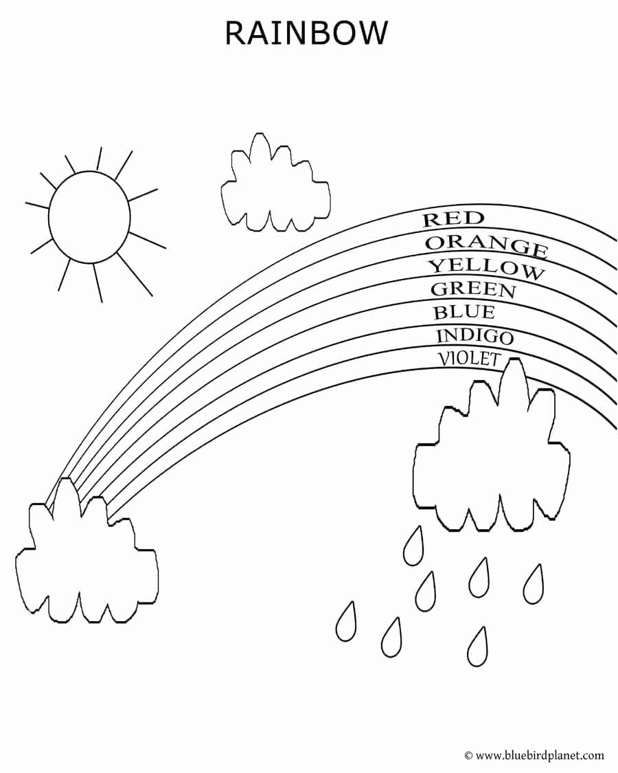 Rainbow Worksheets Preschool Lovely Rainbow Printables for Preschoolers Neo Coloring