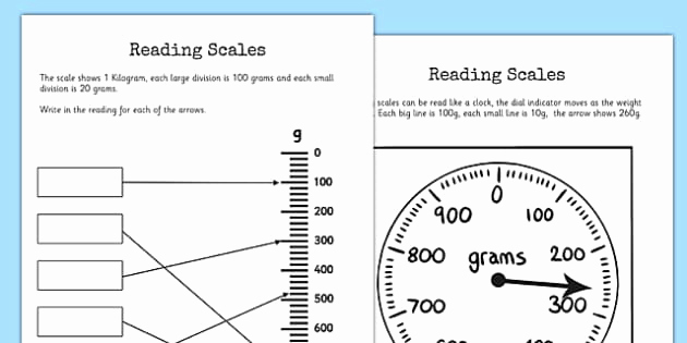 Reading Scales Worksheets Awesome Reading Scales Worksheets Reading Scales Worksheet Scales