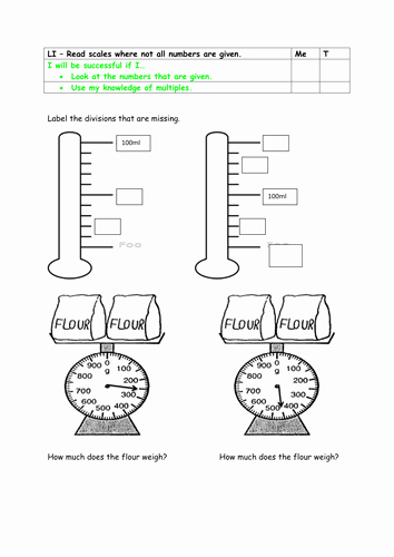 Reading Scales Worksheets New Year 2 Greater Depth Reading Scales with Missing