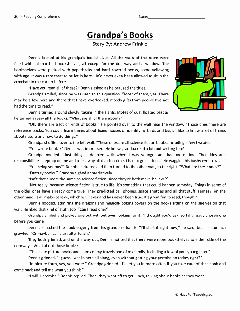 Reading Worksheets 5th Grade Lovely Resources Fifth Grade Reading