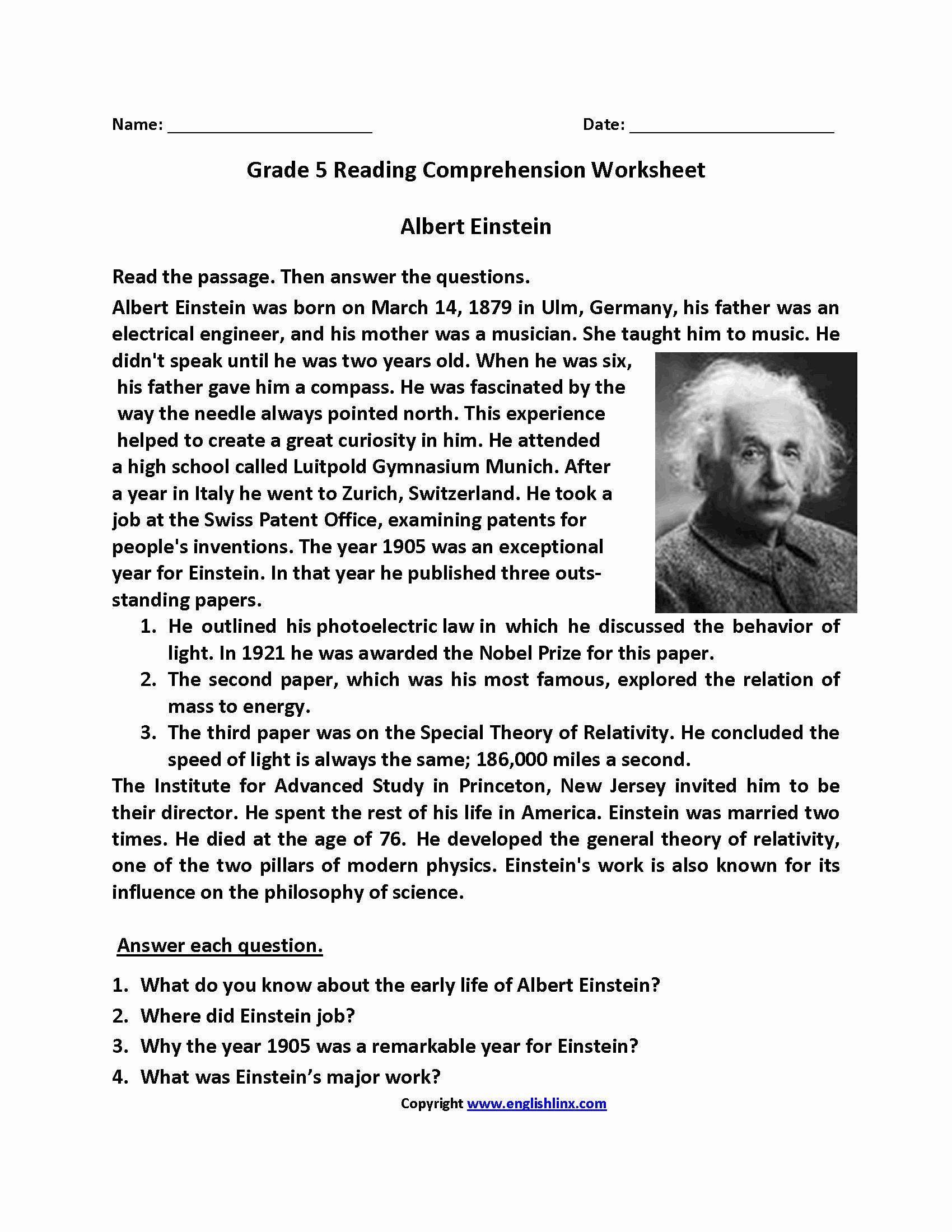 Reading Worksheets 5th Grade Luxury 5th Grade Reading Homework Mrs Guidry S Reading Log