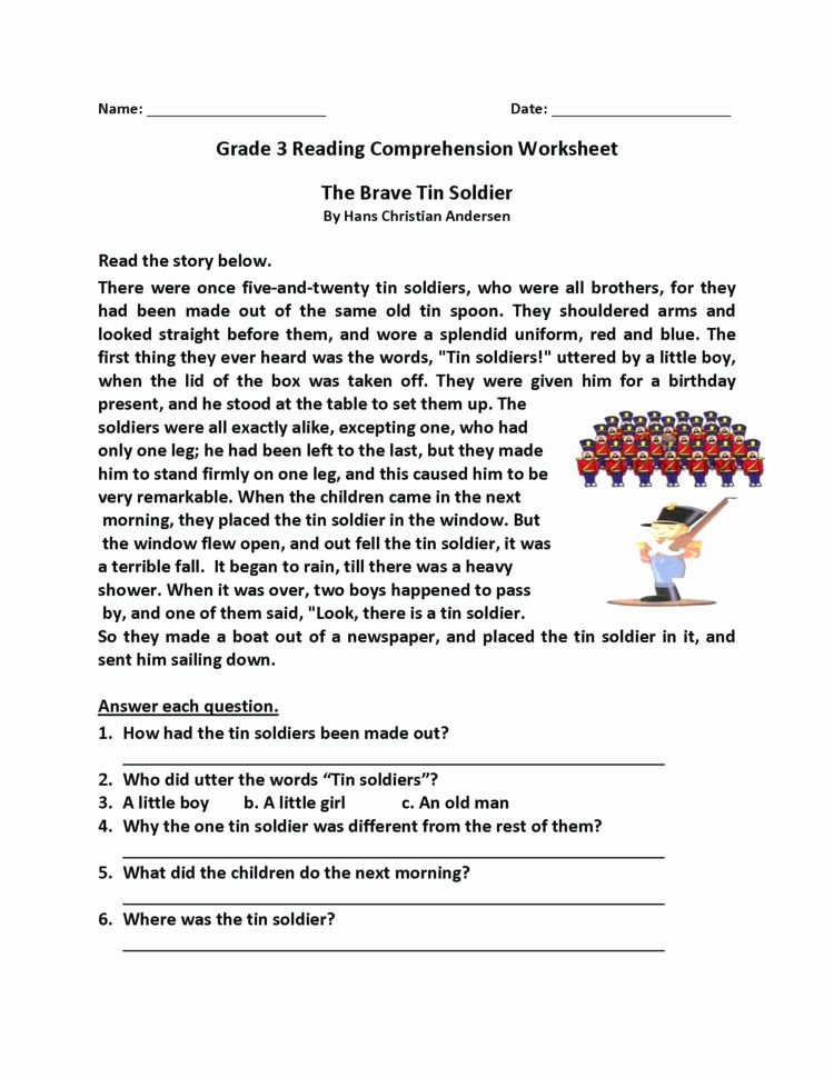 Reading Worksheets 5th Grade Unique Reading Prehension Worksheets 5th Grade Multiple Choice