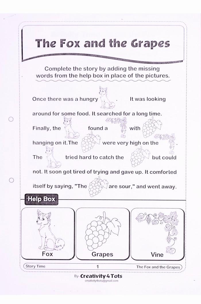 Rebus Story Worksheets Beautiful Rebus Story Worksheets
