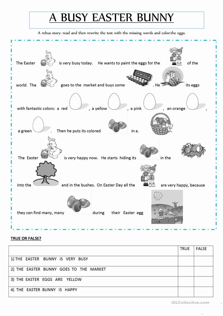 Rebus Story Worksheets Fresh Rebus Story Worksheet Free Esl Printable Worksheets Made
