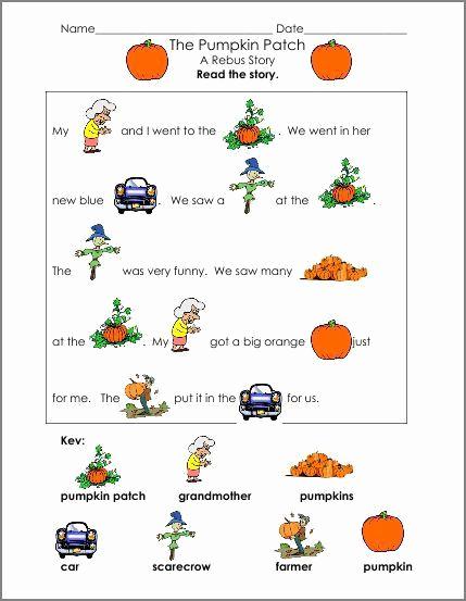 Rebus Story Worksheets Inspirational Rebus Story Worksheets