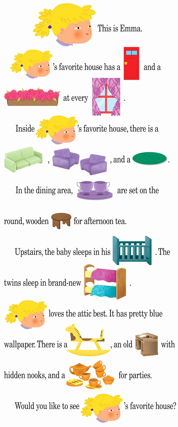 Rebus Story Worksheets New 7 Best Images About Rebus Stories for Beginning Readers On