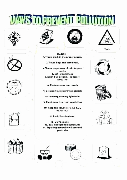 Recycling Worksheets for Middle School Inspirational Pin On Examples Printable Preschool Worksheets