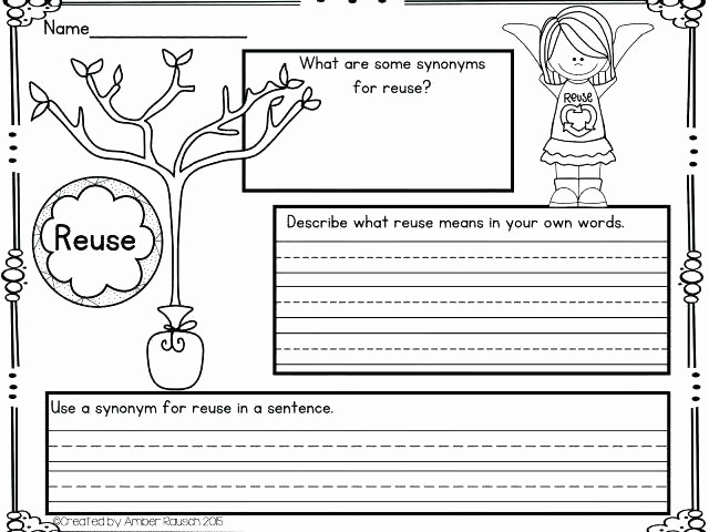 Recycling Worksheets for Middle School Inspirational Recycling Worksheets for Middle School Free Earth