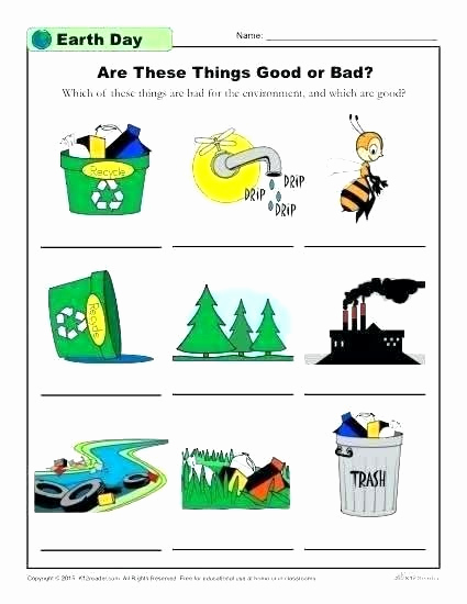 Recycling Worksheets for Middle School Luxury Recycling Worksheets for Middle School Earth Day