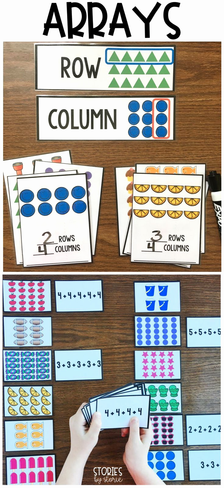 Repeated Addition Worksheets 2nd Grade Elegant Arrays for Days 2 Oa C 4