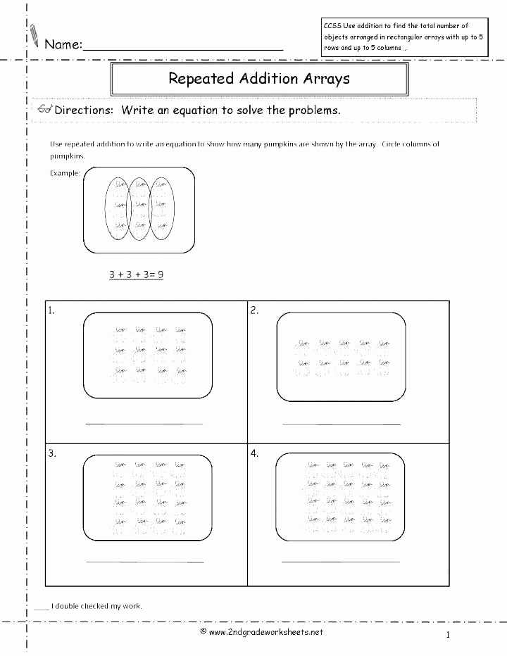 Repeated Addition Worksheets 2nd Grade Elegant Repeated Addition Worksheets 2nd Grade Repeated Addition