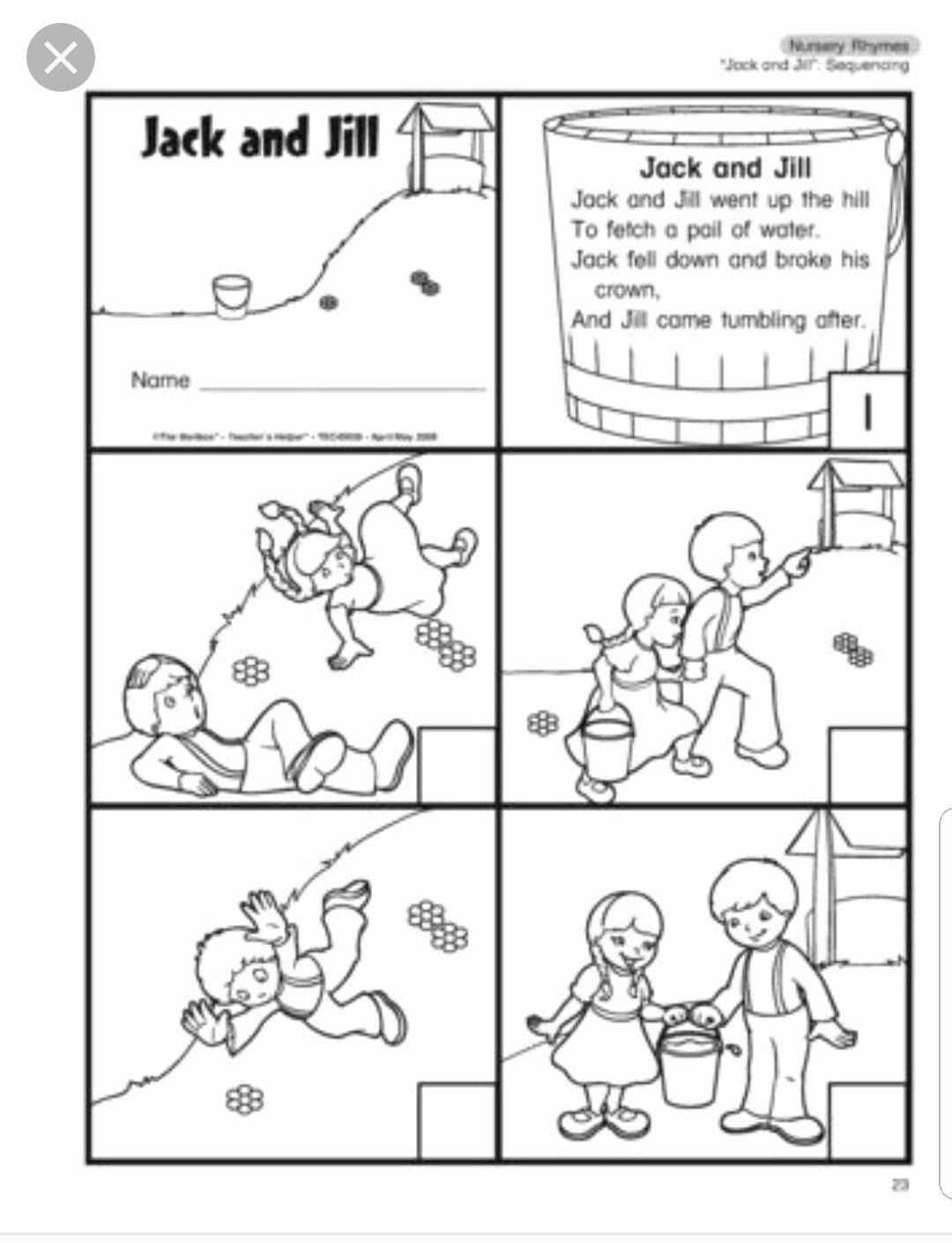 Rhyming Worksheets for Preschool Beautiful Pin by April Jasmine Long On Nursery Rhymes