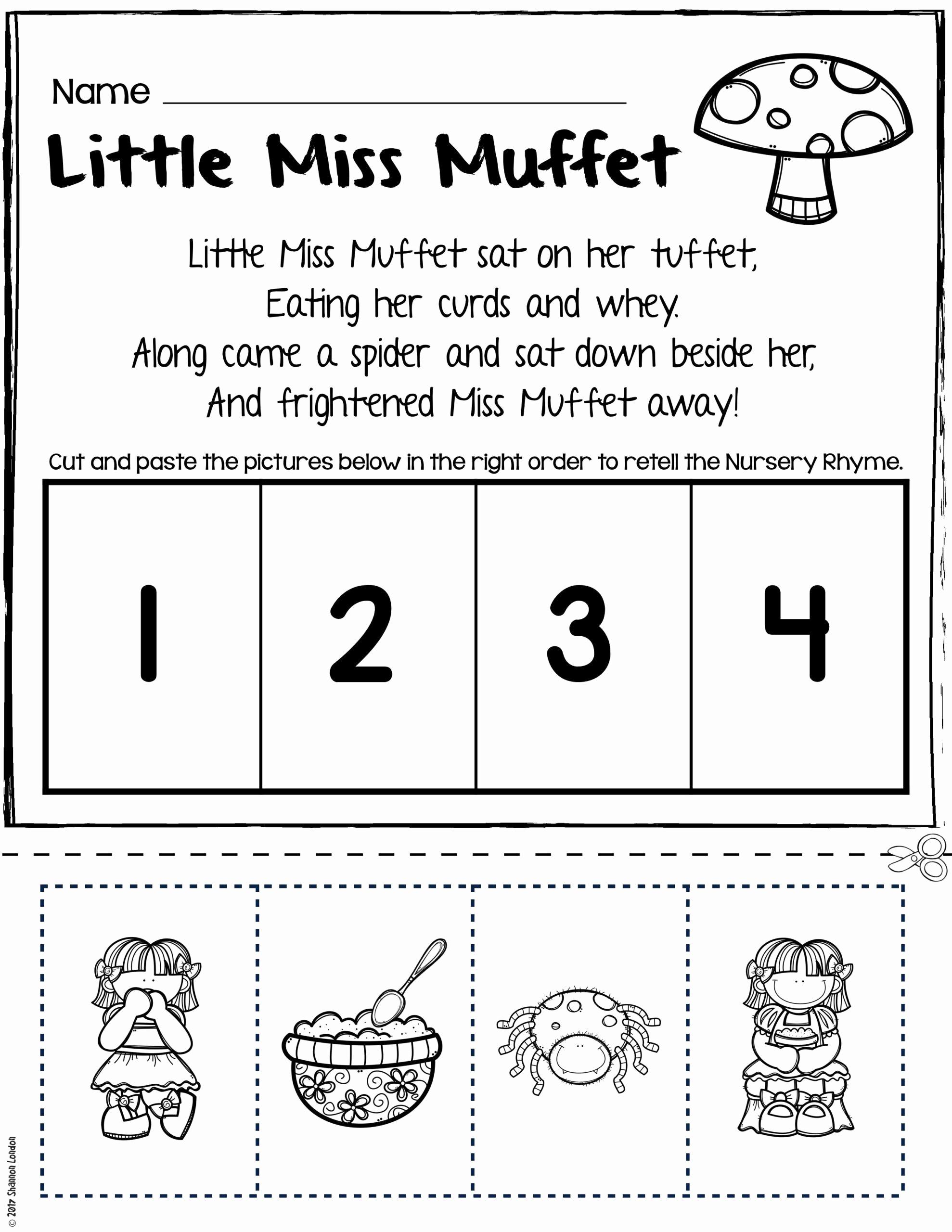 Rhyming Worksheets for Preschool Best Of Rhyming Worksheets for Kindergarten