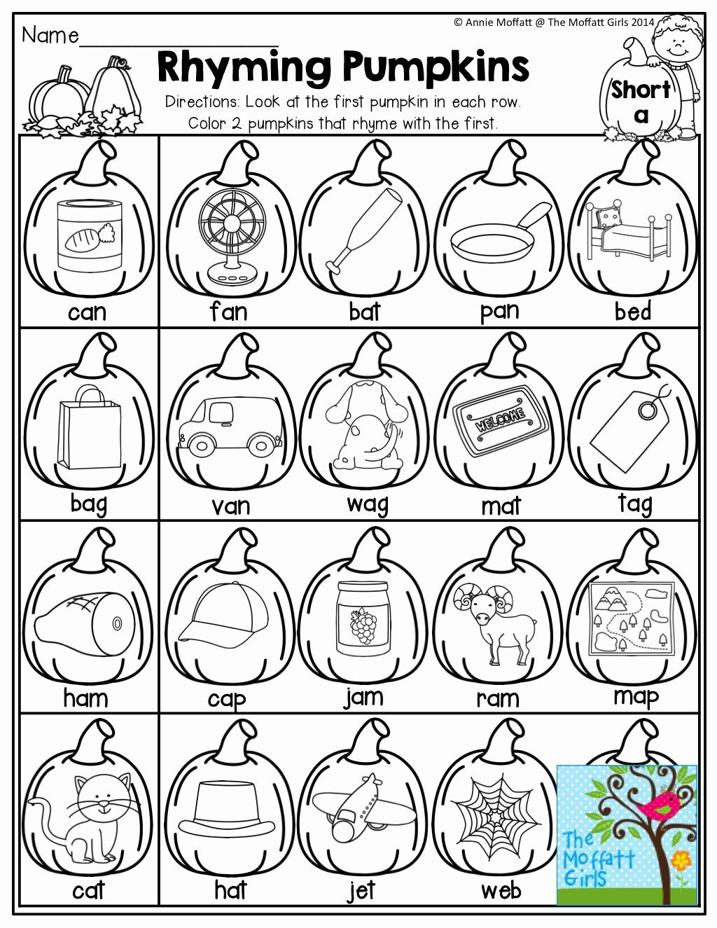 Rhyming Worksheets for Preschool Inspirational Preschool Rhyming Printables Kindergarten Worksheets Mazes