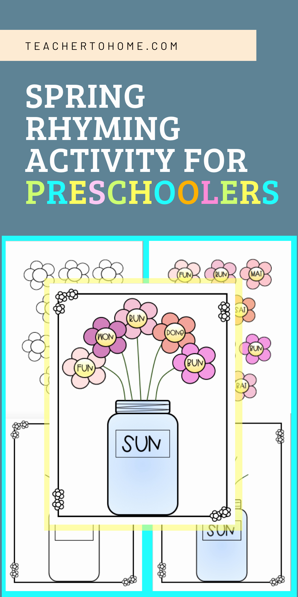 Rhyming Worksheets for Preschoolers Inspirational Rhyming Activities for Preschoolers at Home In 2020