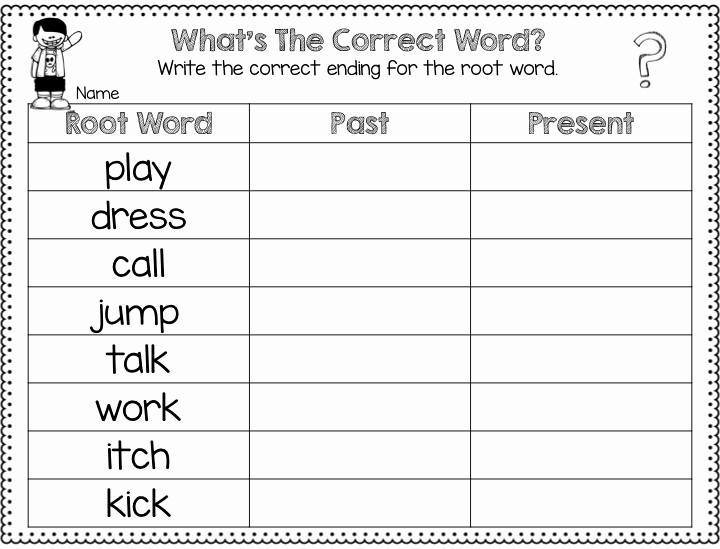 Root Words Worksheet 2nd Grade Fresh the Past Present and Future Making Timelines
