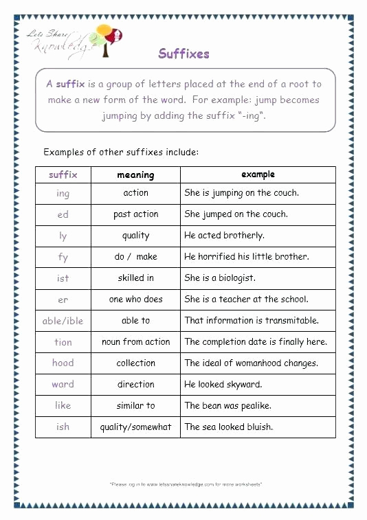 Root Words Worksheet 5th Grade Awesome Root Word Worksheets Middle School Suffix Worksheets 5th