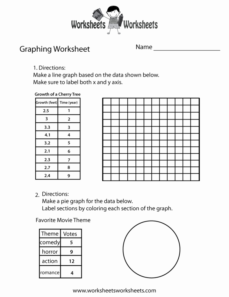 Science Graph Worksheets Lovely Science Graphs and Charts Worksheets — Db Excel