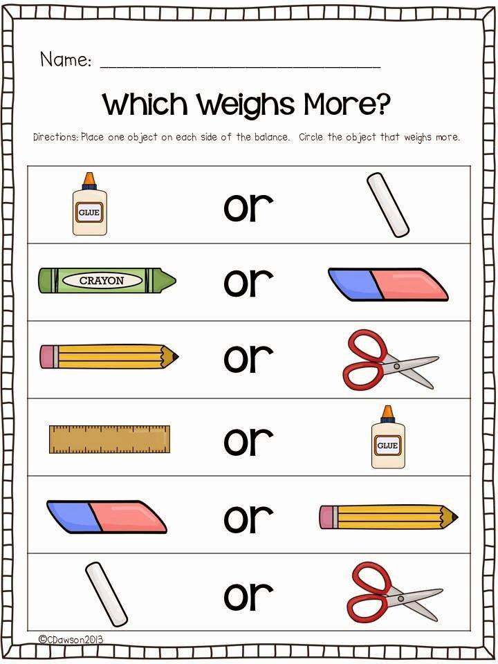 Science Measurement Worksheets Inspirational Keeping Up with the Kindergarteners Let S Talk About