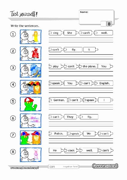 Scrambled Sentences Worksheets 2nd Grade Beautiful Scrambled Sentences Worksheet for 1st 2nd Grade