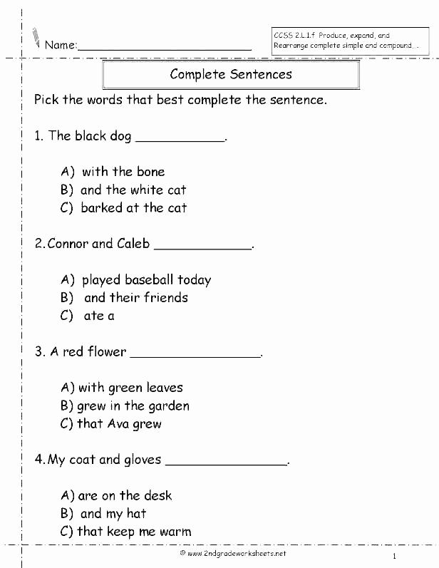 Scrambled Sentences Worksheets 2nd Grade Inspirational 25 9th Grade Reading Prehension Worksheet