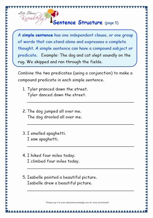 Scrambled Sentences Worksheets 3rd Grade Lovely Mockinbirdhillcottage Writing Sentences Year 3 Worksheets