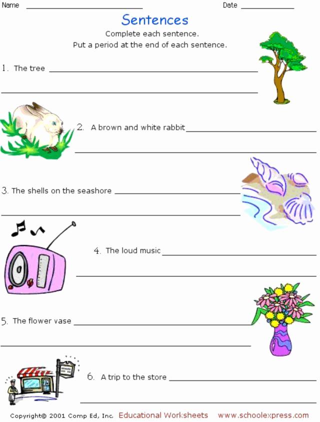 Scrambled Sentences Worksheets 3rd Grade New Sentence Scramble 6 Worksheet for 1st 3rd Grade