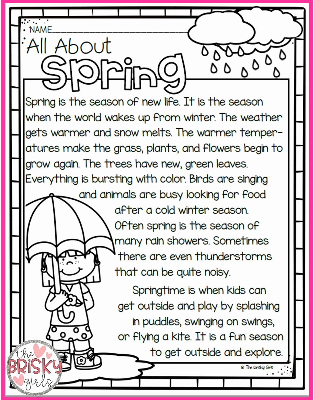 Seasons Worksheets for First Grade New First Grade Four Seasons Worksheet thekidsworksheet