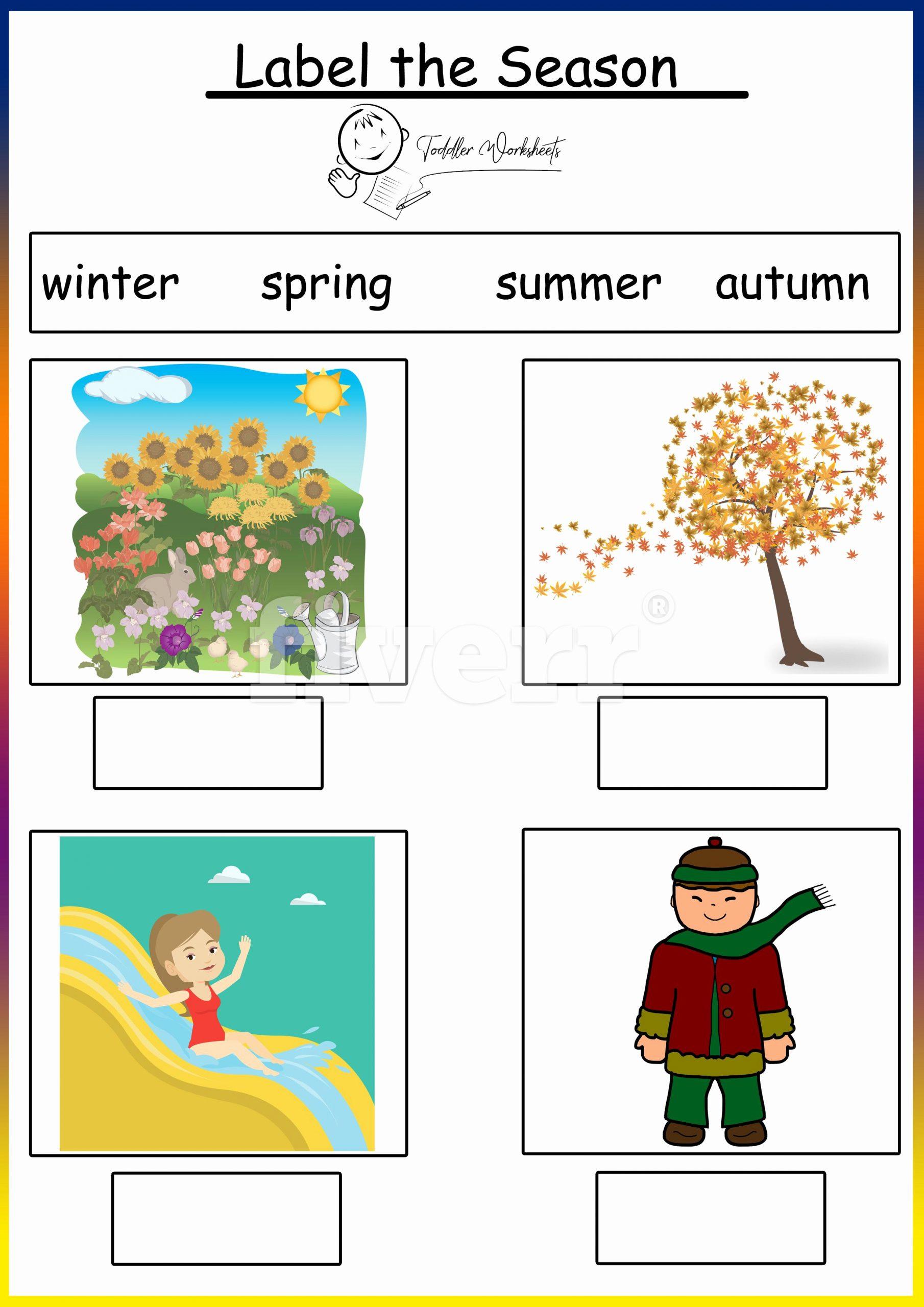 Seasons Worksheets for First Grade New Preschool Free Worksheets Seasons
