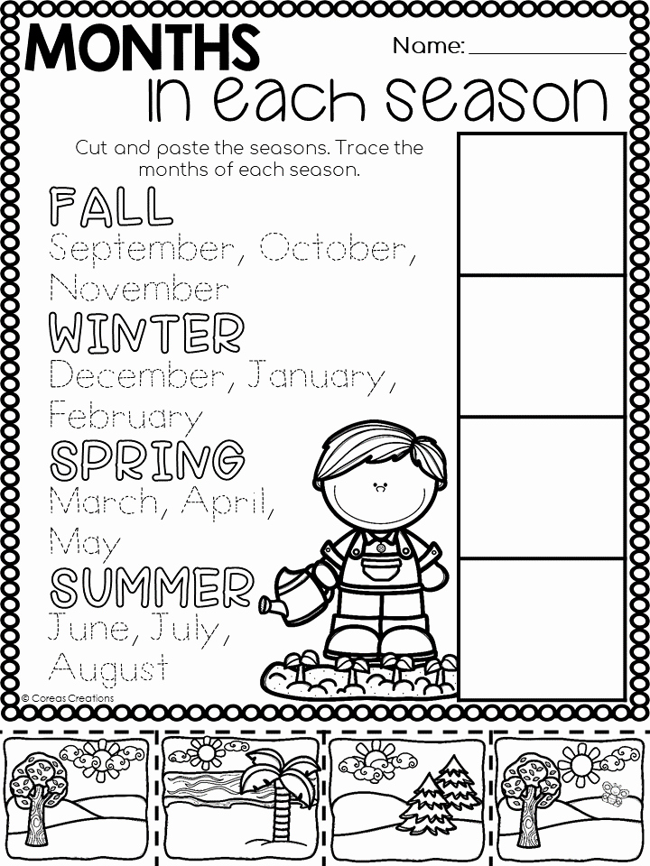 Seasons Worksheets for First Grade Unique Seasonal Changes Alberta Distance Learning