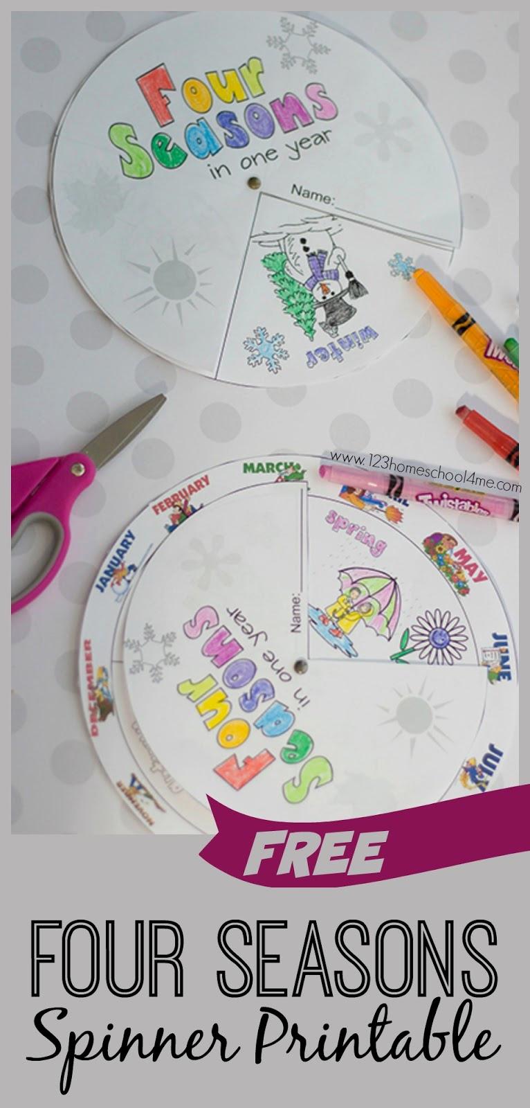 Seasons Worksheets for Preschoolers Lovely Free Printable Seasons Activities