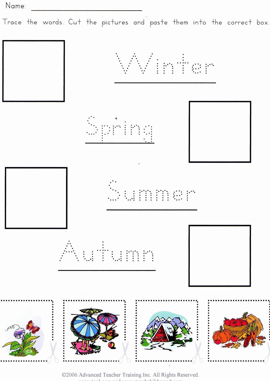 Seasons Worksheets for Preschoolers Lovely Joinin Speakup Teachernick Seasons Video for Kids and
