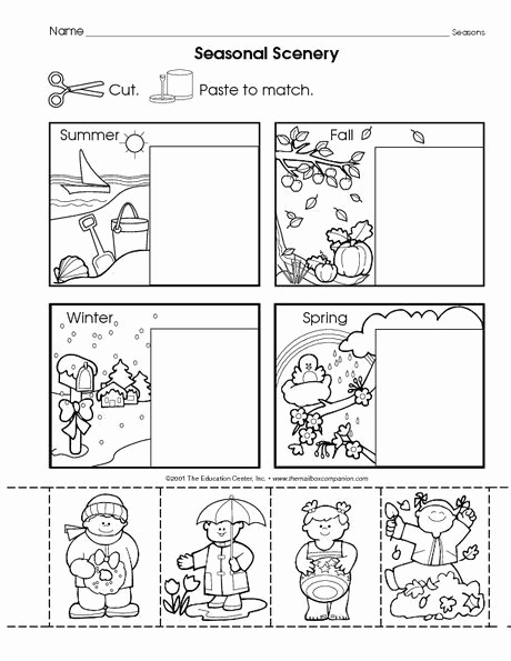 Seasons Worksheets for Preschoolers Lovely Weather Coloring Pages Fun Time