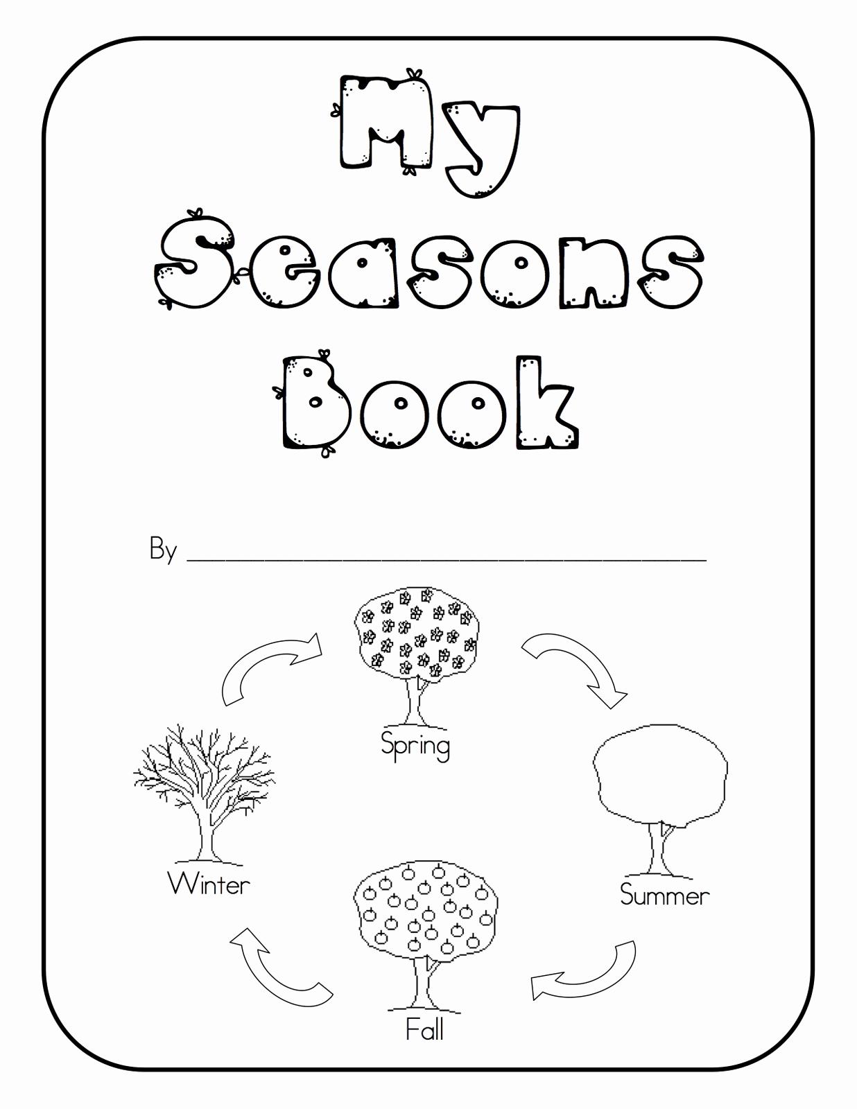 Seasons Worksheets for Preschoolers Unique Kindertastic Seasons