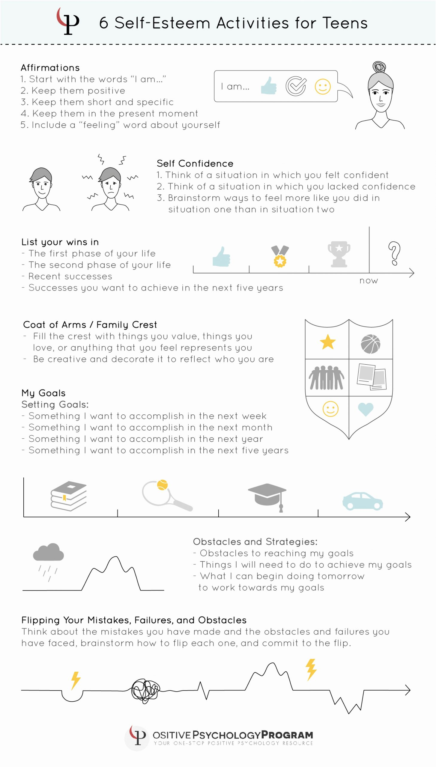 Self Esteem Activities Worksheets Lovely 18 Self Esteem Worksheets and Activities for Teens and