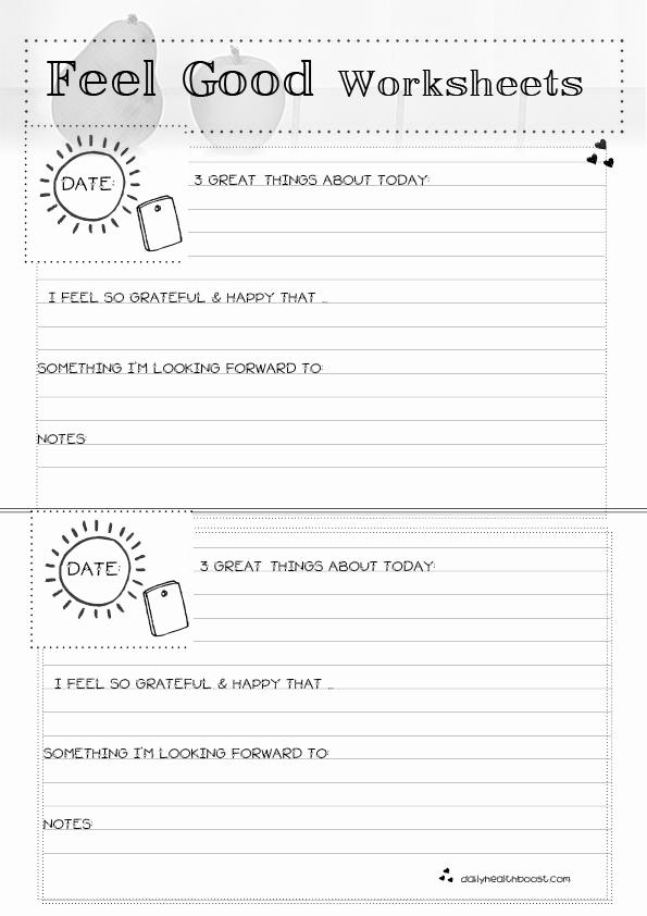 Self Esteem Worksheets for Girls Elegant 15 Best Of Self Esteem therapy Worksheets Teen