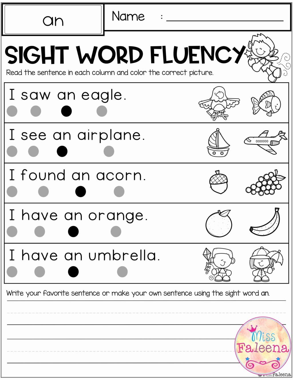 Sentence Worksheets for First Grade Elegant Unscramble Sentences Worksheets 1st Grade