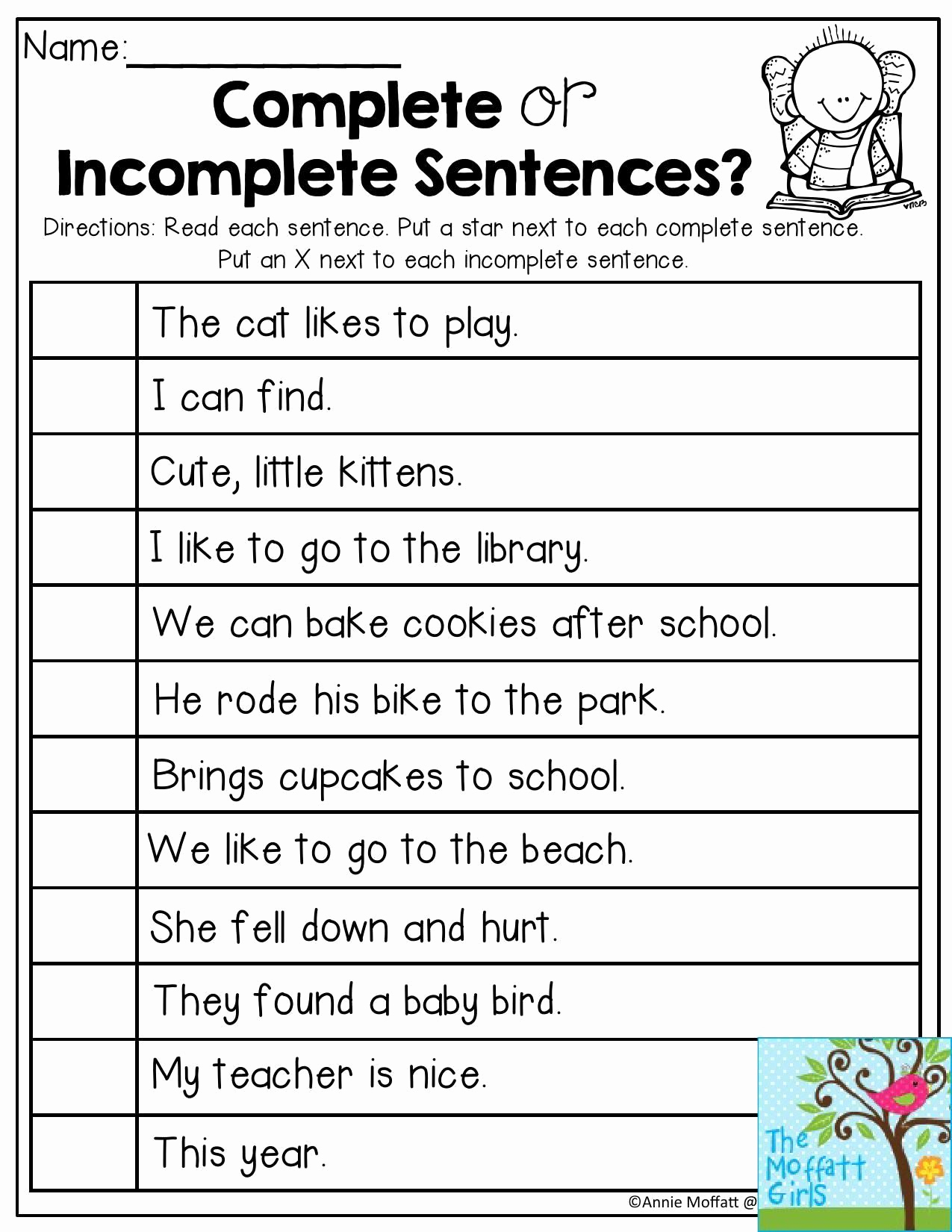 Sentence Worksheets for First Grade Luxury Unscramble Sentences Worksheets 1st Grade