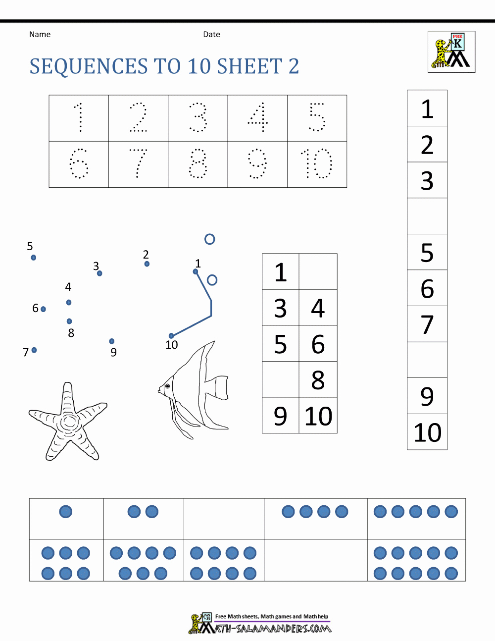 Sequence Worksheets 3rd Grade Beautiful Number Sequence Worksheets 3rd Grade