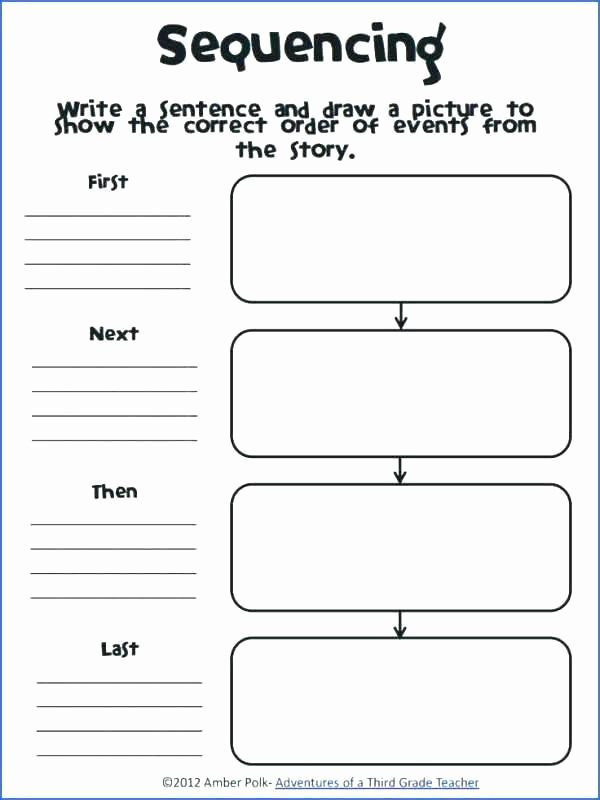 Sequence Worksheets 3rd Grade Best Of Story Sequencing Worksheets for Grade Activities Sequence