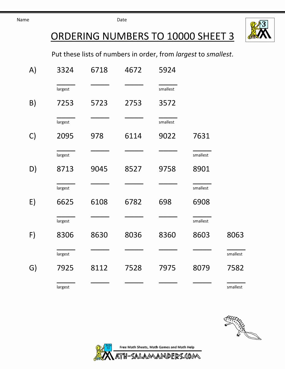 Sequence Worksheets 3rd Grade Elegant Number Sequence Worksheets 3rd Grade