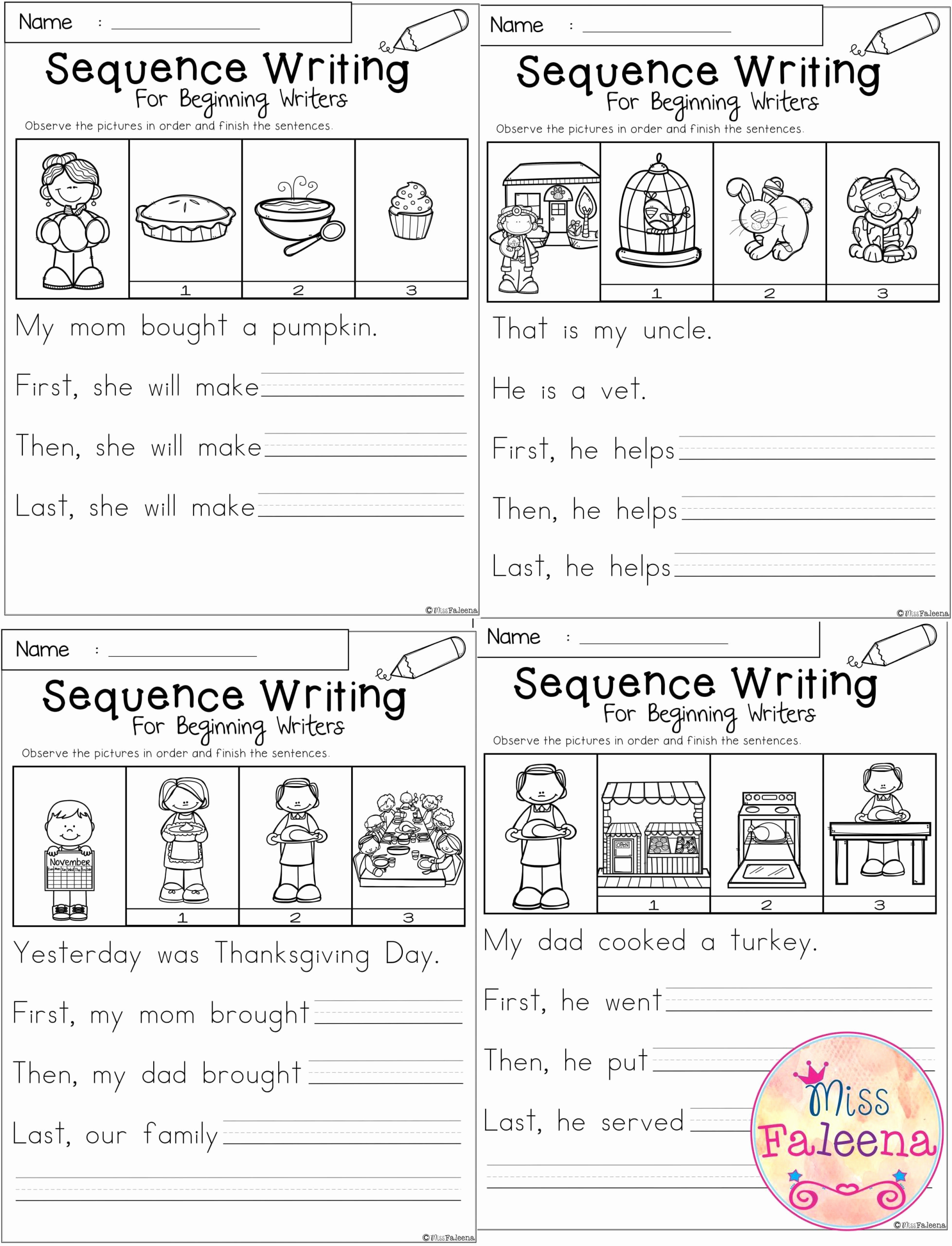 Sequence Worksheets for Kids Beautiful 20 Sequencing Worksheets for Kindergarten